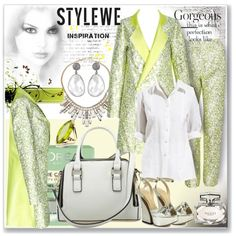 www.stylewe.com by ane-twist on Polyvore featuring Charlotte Olympia, ABS by…