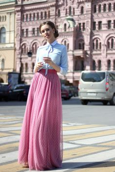 PURE FASHION | Katerina Dorokhova: ЛЕТНИЕ ОРБАЗЫ С ДЛИННОЙ ЮБКОЙ (архив)