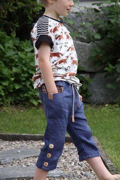 Lieblingslook Lausejunge 2 in 1 7/8-Hose und Shirt - Schnittmuster und Nähanleitungen bei Makerist