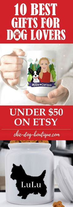 Need a gift for a dog owner? This list of personalized gifts for dog lovers under $50 will show just how thoughtful you are while being easy on your wallet.
