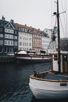 Copenhagen, Denmark River and Travel Places Around The World, Oh The Places You'll Go, Places To Travel, Travel Destinations, Places To Visit, Around The Worlds, Odense, Aarhus, Copenhagen Style