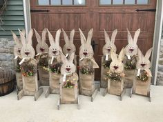 On the last leg of the rabbit orders. I sold over 120, in store and shipped out. Been a busy 2017 for me and The Farm!