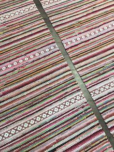 Rag Rugs, Scandinavian Style, Pattern Design, Bohemian Rug, Textiles, Decor, Decoration, Fabrics, Decorating