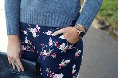 Laura Ashley Blog | WINTER IN BLOOM FASHION WITH KATHERINE LOUISE | http://blog.lauraashley.com #fashion #style #fbloggers #lauraashley #florals