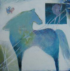 Blue Horse...judy thorley