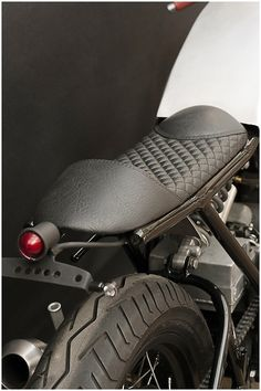 Check out a handful of my best builds - custom made scrambler bikes like this Cafe Racer Parts, Cafe Racer Seat, Cafe Racer Build, Motorcycle Seats, Cafe Racer Motorcycle, Bike Seat, Motorcycle Types, Scrambler, Motos Bobber