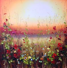 61 Ideas For Painting Acrylic Ideas Canvases Inspiration Painting & Drawing, Watercolor Paintings, Spring Painting, Flower Art, Flower Ideas, Texture Art, Whimsical Art, Acrylic Art, Art Pictures