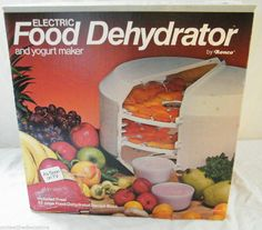 ronco 7 tray food dehydrator manual