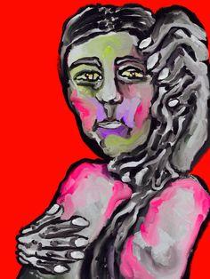 'Retrato de Mujer' by Rony.