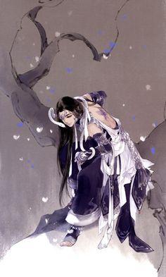 Winter / Blue /Girl / Ibuki Satsuki