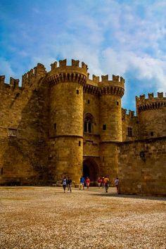 Rhodes Castle, Greece