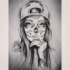 Image result for gangster girl drawing