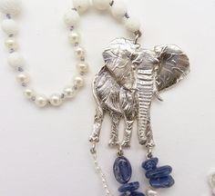 Animali- Elefante in Argento 925