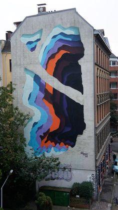 1010 creates mysterious, portal-like street art illusions