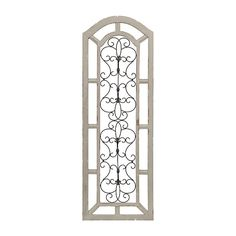Abigail Arch Wood and Metal Wall Plaque   Kirklands