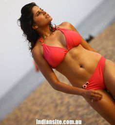 Sai Tamhankar Bikini Photoshoot in Beach - Indiansite