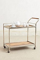 I want/need this Wooden Bar Cart!