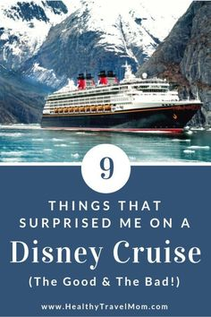 Nine Things that Surprised Me on a Disney Cruise - Healthy Travel Mom Packing List For Cruise, Cruise Tips, Cruise Travel, Cruise Vacation, Disney Vacations, Disney Travel, Vacation Travel, Disney Food, Family Cruise