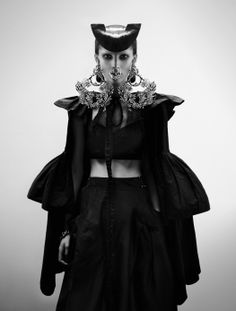 """Francisco de Goya"" Interview Magazine. Photography by Fabien Baron. My opinion: Rooney Mara meets Spanish Matador meets Alexander McQueen. Album has several other amazing images/outfits."
