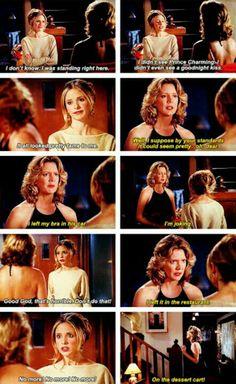 Joyce mentally scarring Buffy 5*15
