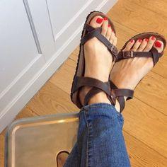 Birkenstock Yara Habana Oiled Leather Sandals