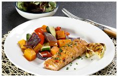 Hulett's recipe for Grilled Salmon with an Orange Chilli Glaze the perfect lunch or dinner meal that can be enjoyed by everyone! Pork Brisket, Pork Ribs, Pulled Pork, Grilled Salmon Recipes, Pork Recipes, Baby Potatoes, Salmon Fillets, Kitchen Recipes, Glaze