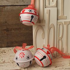 Cool, handmade style baubles