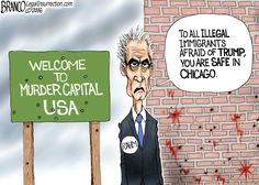 Mayor (of murder capital USA) Rahm Emanuel says to illegal immigrants, you are safe to break the law in Chicago.   cut federal funding for these city's!