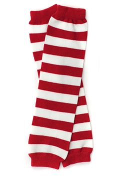 Red & White Stripe Leg Warmers - My Baby Rocks www.punkbabycloth... www.mybabyrocks.com #mybabyrocks #punkbabyclothes #baby