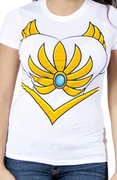 She-Ra Costume Shirt w/ a white tutu and the headpiece