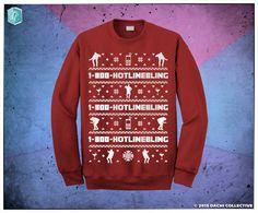 Drake-Hotline-Bling-Ugly-Christmas-Sweater-Drake-sweatshirt-ovo-xo ...