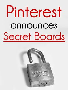 Finally! Here's how to create PRIVATE boards on Pinterest. // (Image via Creative Commons, by Dazzie D on flickr)