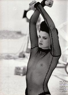 Vogue IT - Al Femmini Maschile - Linda Evangelista, Marie-Sophie Wilson, Kristen Mc Menamy - Sep 1990