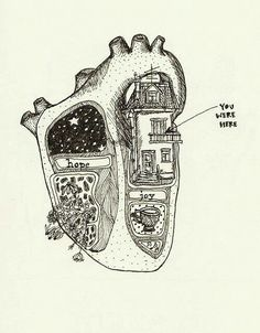 You were, but I had to evict you. heart art