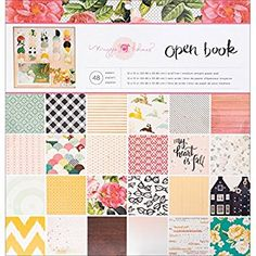 Crate Paper Maggie Holmes Open Book Patterned Paper Pad, 12 by 12-Inch Review