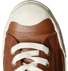 new product ecc1c 76b13 JACK PURCELL LEATHER SNEAKERS £70 EDITORS  NOTES With their distinctive  toe-cap