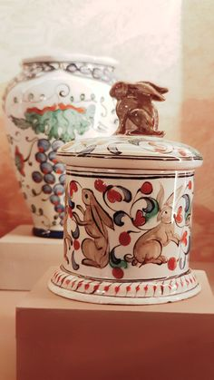 """Photo from the exhibition """"ICARO-ΙΚΑΡΟΣ"""" at the Palace of the Grand Master of the Knights of Rhodes The Grandmaster, Rhodes, Knights, Palace, Jar, Pottery, Ceramics, Home Decor, Ceramica"""