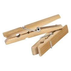 Household Essentials Whitney Design Wood Clothespin (Set of 50) - 04700