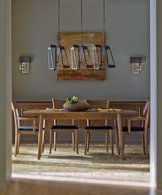 Кованые светильники от Hubbardton Forge, США #ковка #светильники #дизайнинтерьера
