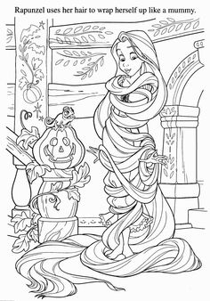 Tangled Coloring Pages Traceables Disegni Bambini Disney Colori