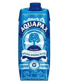 aquapax Packaging Trend 2013: Water Boxes NOT Bottles