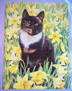 Motley in Wild Daffodils (Lesley Anne Ivory) by Leonisha, via Flickr