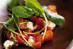 Arugula Salad with Baked Ricotta - Satisfying Salad Recipes - Oprah.com