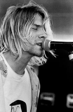 Kurt Cobain. The whole life closed in music.