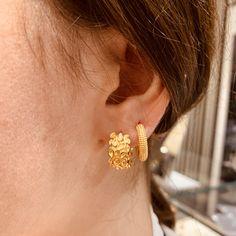 Shop the Look Diamond Earrings, Stud Earrings, Piercings, Gold, Shopping, Jewelry, Romantic Gifts, Silver, Armband