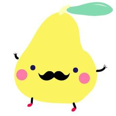 Poire moustachue