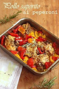 The Italian Food of Trentino-Alto Adige Entree Recipes, Meat Recipes, Chicken Recipes, Cooking Recipes, Healthy Recipes, Queens Food, Pollo Chicken, Fish And Meat, Slow Food