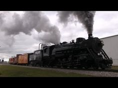 """Railfanning 11/8/2014 Part 2 - """"Soo Line 1003's Steam Show With CN Intermission"""" - YouTube"""