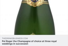 Pol Roger has confirmed that it was served at the wedding reception of Princess Eugenie of York to Mr Jack Brooksbank – making it the Champagne of choice at three royal weddings in succession. Pol Roger, Royal Weddings, Champagne, News