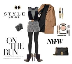 """""""NYFW"""" by marianti on Polyvore featuring Varley, Armani Jeans, Boutique Moschino, Sergio Rossi, Calvin Klein, Karl Lagerfeld, Bounkit, Victoria's Secret, NYFW and look"""